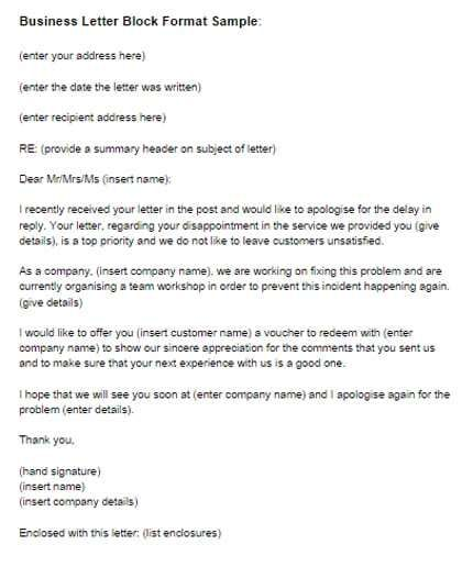 40 Sample Of Bussiness Letters Business Letter Format Business