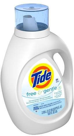 Tide Free And Gentle Liquid Laundry Detergent 100 Fl Oz Em 2020