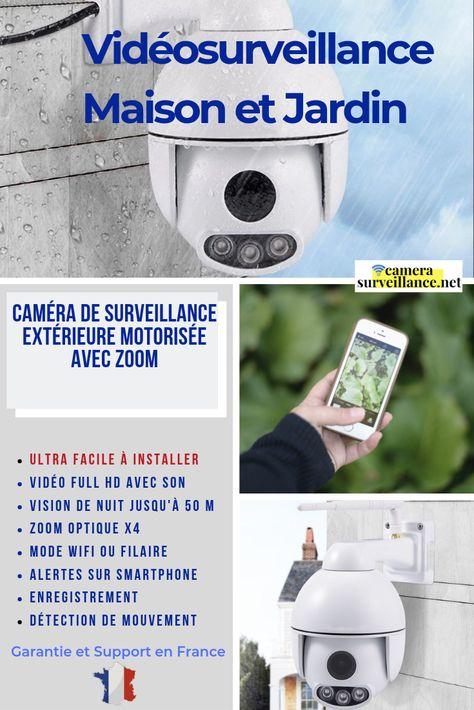 Camera Wifi Dome Motorisee Exterieure Hd Zoom Camera