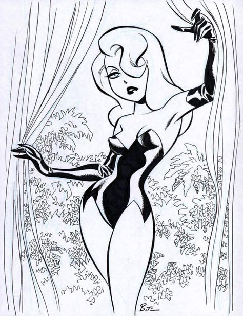 [Artwork] Poison Ivy by Bruce Timm or earlier)You can find Poison ivy and more on our website.[Artwork] Poison Ivy by Bruce Timm or earlier) Poison Ivy Comic, Poison Ivy Cartoon, Poison Ivy Dc Comics, Dc Poison Ivy, Bruce Timm, Comic Book Artists, Comic Books Art, Poison Ivy Costume Diy, Poison Ivy Cosplay
