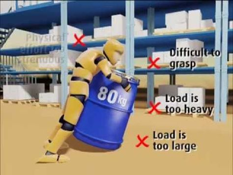 Manual Handling Risk Assessment - Case Study 1 - Barrel Handling - manual handling risk assessment