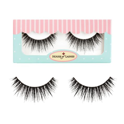 6cdd0490abf House of Lashes Mon Cheri false lashes. Cruelty-free lash made from human  hair, these lashes have a rounded style to widen the eyes for a romantic  look!