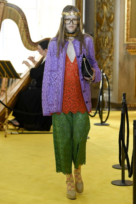 See all the Collection photos from Gucci Spring/Summer 2018 Resort now on British Vogue