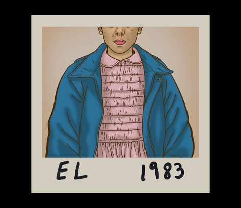 1983 Stranger Things Eleven T-Shirt - The Shirt List