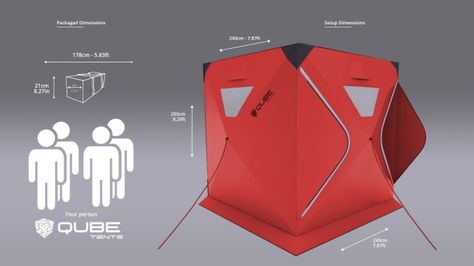 Connect anytime anywhere with Qube a range of quick pitch tents that connect together | Crowdfunding is a democratic way to support the fundraisingu2026 & Connect anytime anywhere with Qube a range of quick pitch tents ...