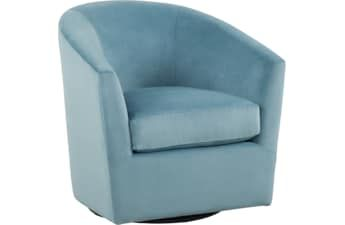 Jacey Ocean Swivel Accent Chair Blue Accent Chairs Chair