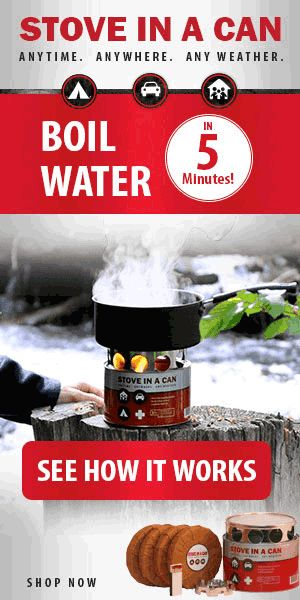 Compact Survival Stove - Boil Water in 5 Minutes - ColoradoHiking.org