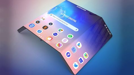 Samsung Galaxy Fold 2 Double Folding Phone Is In Development Techgenyz Samsung Galaxy Samsung Phone Design