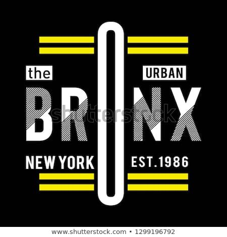 The Bronx Ny City Cool Awesome Typography Tee Design Vector