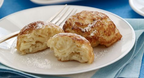 """Author Janet Evanovich fondly recalls her grandmother's Danish specialty:    """"My grandparents emigrated from Denmark to this country, and my grand-mother brought her recipe for aebleskivers [round, puffy pancakes] with her. It is close to 100 years old."""""""