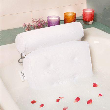 Non slip Bathtub Spa Pillow Bath