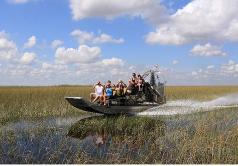 Faire un tour d'hydroglisseur dans les Everglades   #Floride  