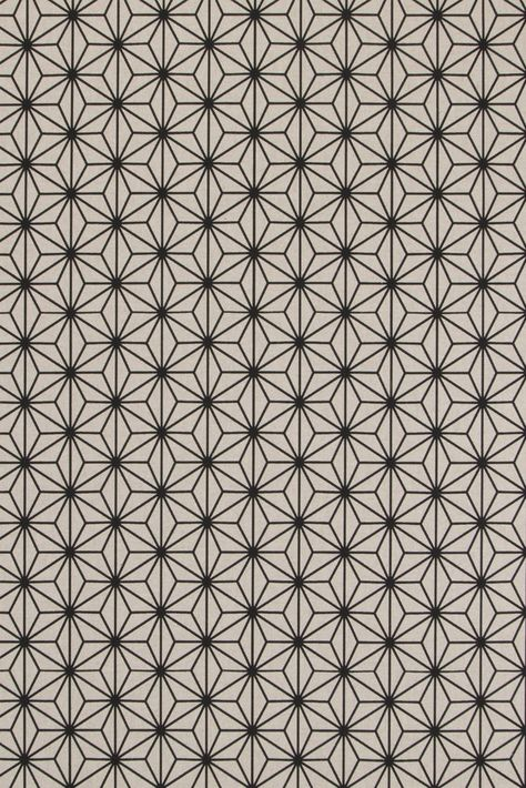 Linen look Fabric Fabric Price per half meter geometric