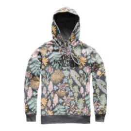 210478392 The North Face Women's All-Over Print Hoodie - Grey   Wishlist ...
