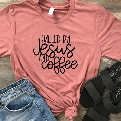 JESUS AND COFFEE Unisex Shirt Christian Friend Gift Soft Mothers Day Birthday By Happytops On Etsy