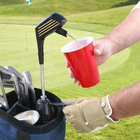 Golf Bag Beer Tap I Know Many Guys Who Would Love This
