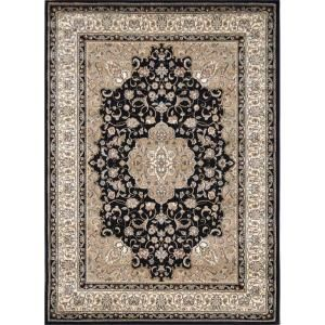 Ivory 8 Ft X 10 Area Rug