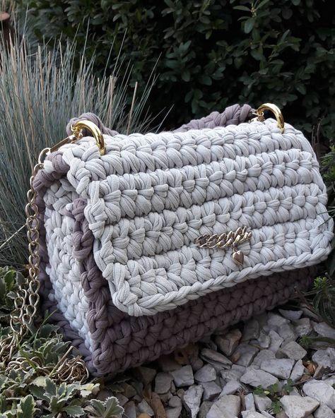 Pin de GANXXET en FABRIC YARN PATTERNS AND IDEAS   Yarn bag