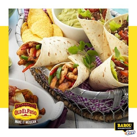 #MonRDVCuisine  Vivez de délicieux moments aux couleurs du Mexique avec @OldElPaso chez BABOU ! 🌮 Kit OLD EL PASO Fajitas - BBQ - 500g - 3€49 soit 6€98 le kilo 🌮 Kit OLD EL PASO Fajitas - poulet croustillant - 550g - 3€49 soit 6€39 le kilo #fajitas #mexican #poulet #babou #petitprix #bonsplans #prixfous #bmstores #homedecor #homesweethome #instamood #decor#homestyle #instahome #lovelyhome #likeaunicorn #regram