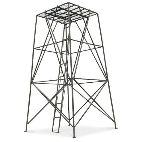 Guide Gear 10 Elevated Hunting Platform Hunting Blinds Tower Stand Tree Stand Hunting