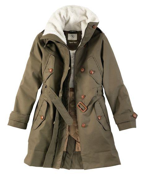 Winterjacke (Aigle Blodwen)   wardrobe essientials   Parka