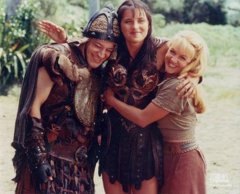 Joxer, Xena e Gabrielle (Xena: Warrior Princess, 1995-2001)