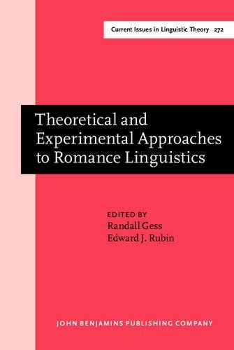 Read Download Theoretical And Experimental Approaches To Romance