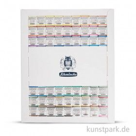 Schmincke Horadam Dot Card 140 Colours Swatches Overview