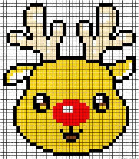 Résultat De Recherche Dimages Pour Pixel Art Noel A
