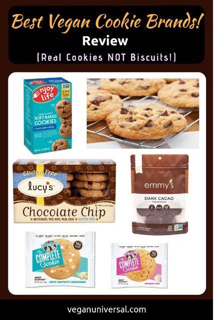 Best Vegan Cookie Brands Real Cookies Not Biscuits Vegan