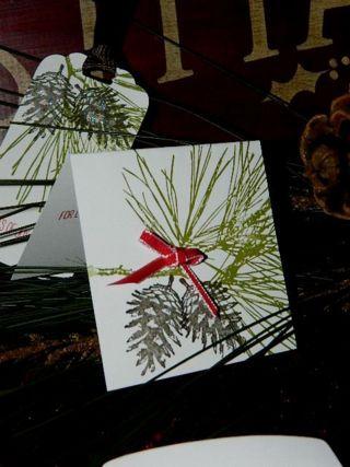 Ornamental Pine, Stampin' UP! Christmas,
