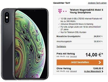 Telekom Magenta Mobil S Ab 39 95 Mit Top Smartphone Fur 1 In 2020 Telekom Handyvertrag Smartphone