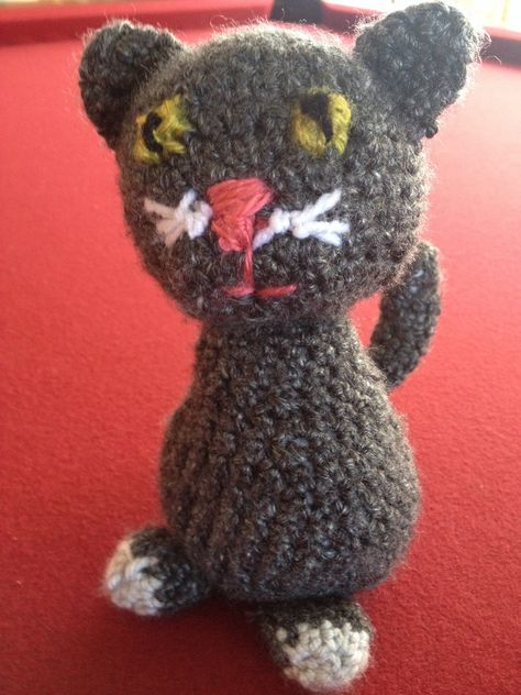 Ballerina cat doll crochet pattern - Amigurumi Today | 632x474
