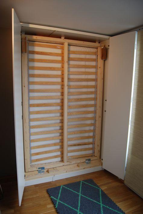 Hack a PAX Murphy Bed | Ikea pax wardrobe, Ikea pax and Pax wardrobe