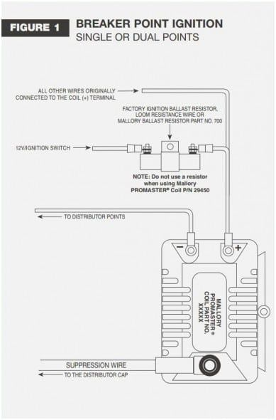 mallory promaster wiring diagram  schematic wiring diagram