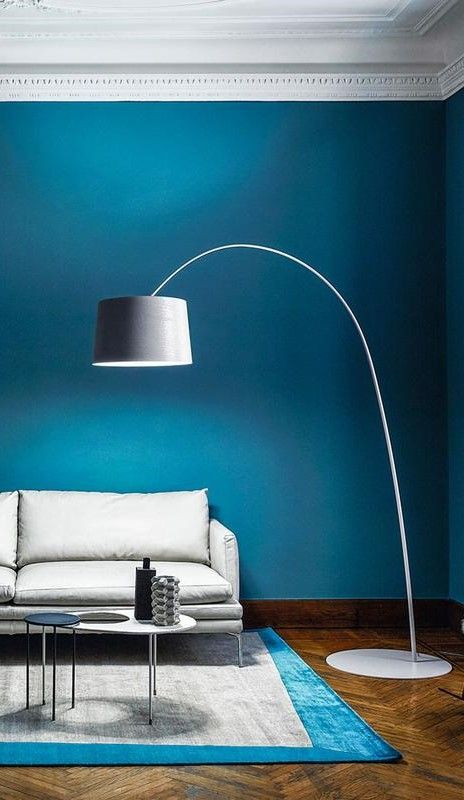 Twiggy Floor Lamp By Foscarini 159003 20 Ul Blue Accents