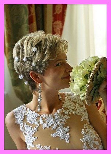 30 Short Hairstyles For Mother Of The Bride Over 50 In 2020 Short Wedding Hair Bride Hairstyles Hair Styles
