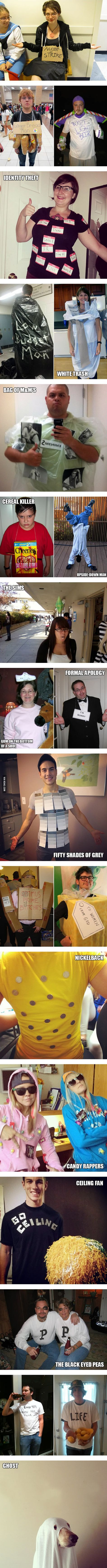 22 Epic Last-Minute Halloween Costume Ideas. I think the Ceiling Fan is my favorite. What's yours?