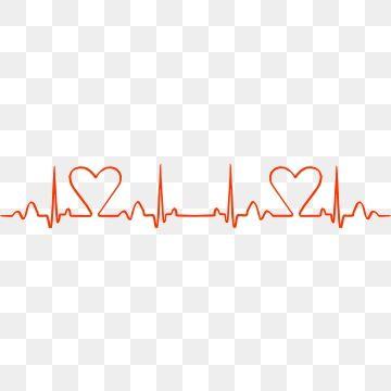 Heart Of Love Red Broken Line Heart Vector Design Rose Line Art Graphic Design Background Templates