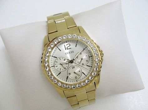 GUESS Damen Uhr SEXY GROSS! U12005L1 CHRONOGRAPH CHILLY