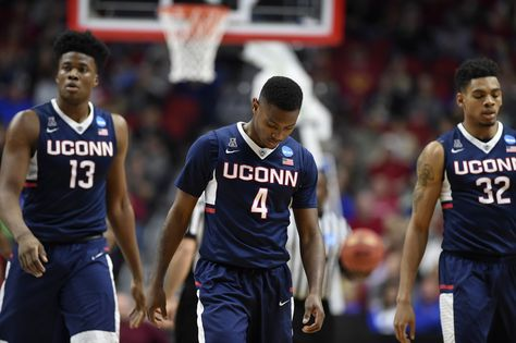 The UConn men's basketball team is putting the finishing touches on its out-of-conference schedule and reportedly has booked a home game against Auburn .