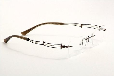 f256123c3 Charmant Line Art Womens Eyeglasses XL2003 XL/2003 BR Brown Optical Frame  51mm ** Check out this great product. (This is an affiliate link)