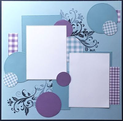 Ann Craig - distINKtive STAMPING designs - Stampin' Up!® Australia: April Scrap Page Layout.