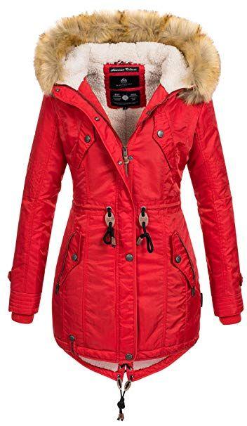 Steckdose online exquisite handwerkskunst Weg sparen Navahoo warme Damen Winter Jacke Teddyfell Winterjacke Parka ...
