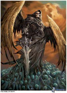 Angel De La Muerte Dioses De La Muerte Imagenes De La Muerte Angel De La Muerte