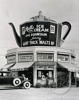 Balls fine Ice Cream and Fountain featuring Giant Thick Malts 10 cents