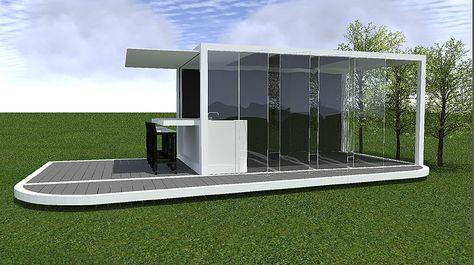 Een Liviq tuinkamer als vrijstaande lounge ruimte in je tuin, thuiskantoor, poolhouse, outdoor fitness room, of met een buitensauna, outdoor kitchen of jacuzzi.