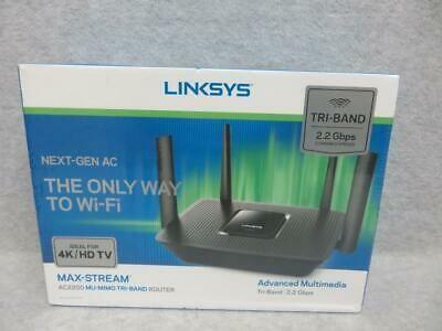 Linksys Max Stream Ac2200 Mu-mimo Tri Band Wireless Router