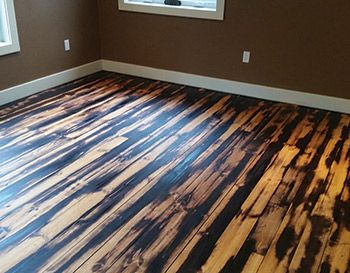What S The Most Unusual Wood Floor Job, Unusual Laminate Flooring
