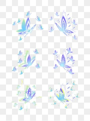 Glowing Blue Butterfly Cartoon Png Material Blue Butterfly Flying Butterflies Gradient Flying Butterflies Png Transparent Clipart Image And Psd File For Free Cartoons Png Blue Butterfly Cartoon Butterfly